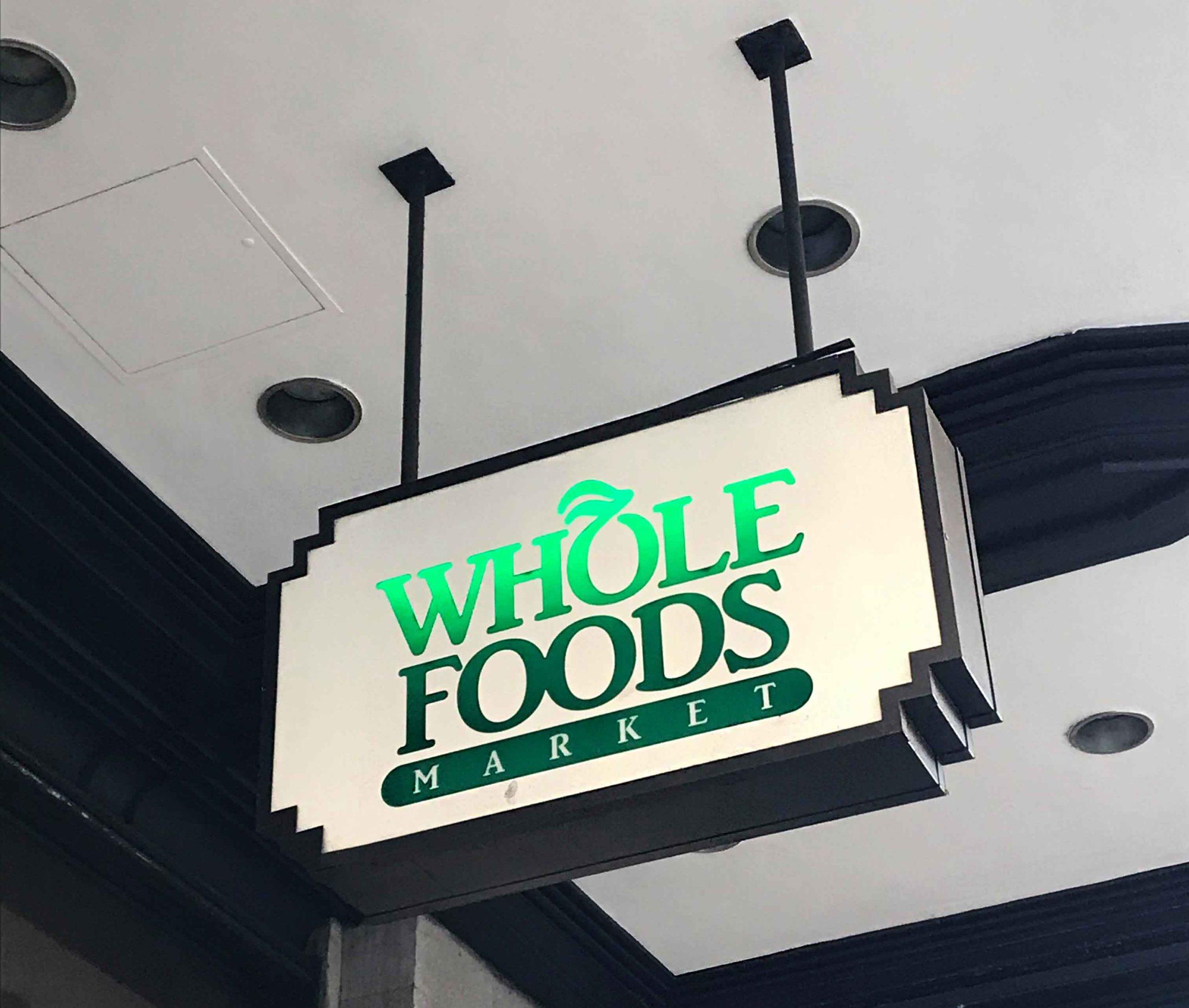 Rosana Eats Whole Foods Sign
