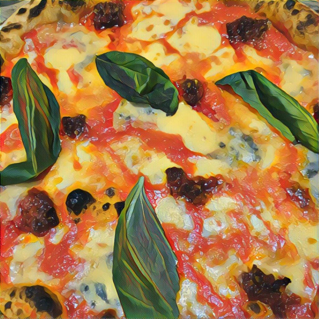 Kuva pizzasta.